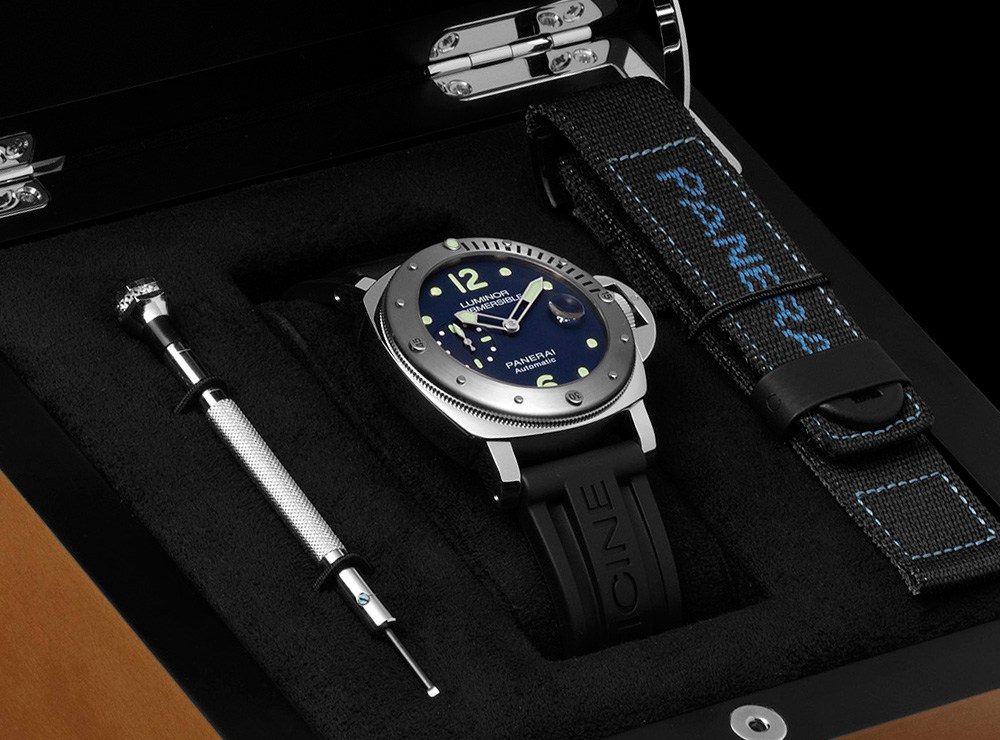 Replicas Reloj Panerai Luminor sumergible automático Acciaio PAM731 'E-Commerce Micro-Edition'